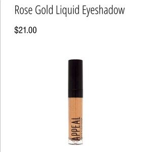 Other - Rose Gold Liquid Eyeshadow - Appeal Cosmetics